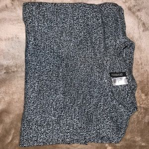 H&M Black and White Sweater